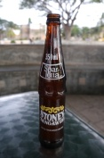 We drank a lot of this ginger ale during our stay in Africa.