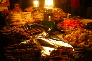 Foods at Forodhani Night Market