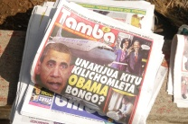 Obama grabbed headlines in Tanzania.
