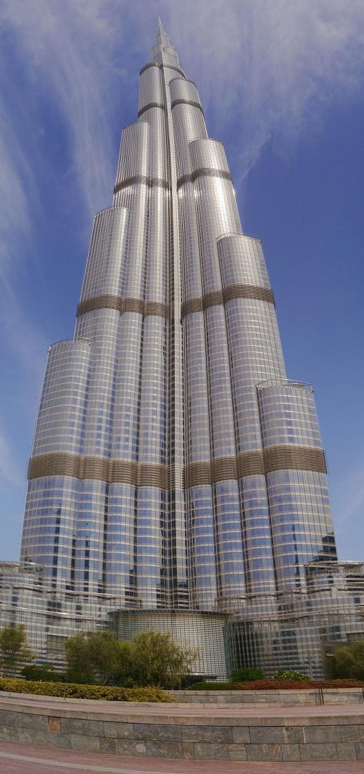 Burj Khalifa, stitched together