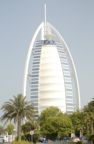 There's no public access to the Burj al Arab.