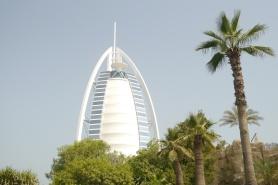 The world's tallest hotel: Burj al Arab
