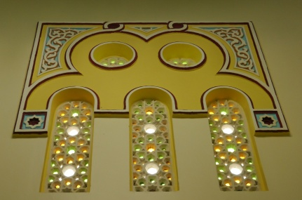 Lovely windows inside mosque