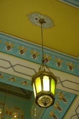 Lantern inside mosque.