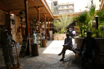 View into the souks