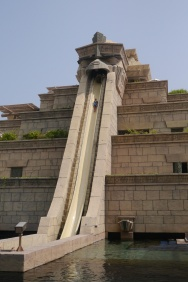 Nathan on Leap of Faith water slide