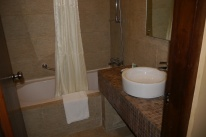 A Western-style bathroom