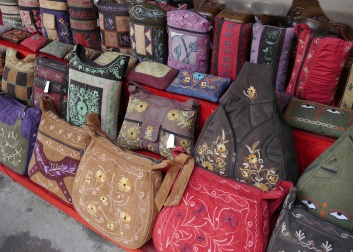 Many beautifully handcrafted items here