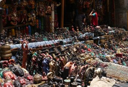 One of hundreds of vendors in Thamel
