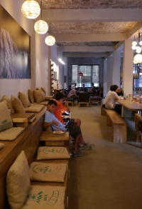 Ok, this place was like heaven, Himalaya Java. Good coffee, WiFi, electrical outlets.