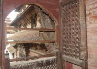 Detailed woodcarvings everywhere