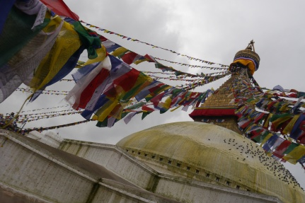 Boudhanath Stupa, the largest stupa in Asia