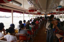 Water taxi on Chao Phraya River