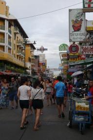 Famed Khao San Road