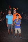 Nathan, Neerav, and Aidan taking in the Bangkok nightlife.