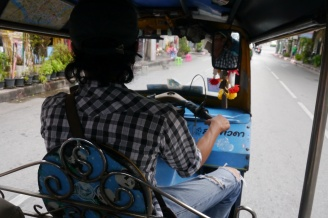 Tuk-tuk driver who was part of the scam
