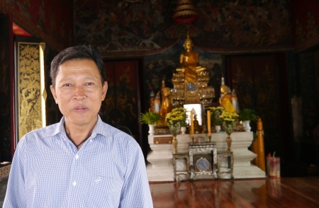 This man was very gracious, explaining to us more about the Buddhist ceremonies and traditions.