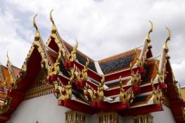 Rooftops at Wat Pho