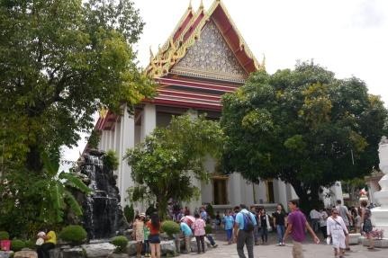 Wat Pho, home of Reclining Buddha