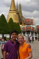Nathan and Shellie at Grand Palace