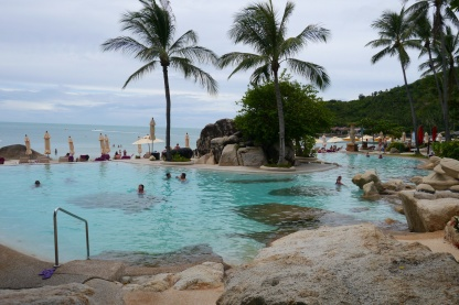 Imperial Koh Samui, sister property to our hotel, on Chaweng Beach