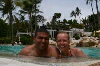 Happy couple in Thailand