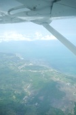 Leaving the African coast