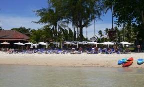 Imperial Boat House Beach Resort's beach