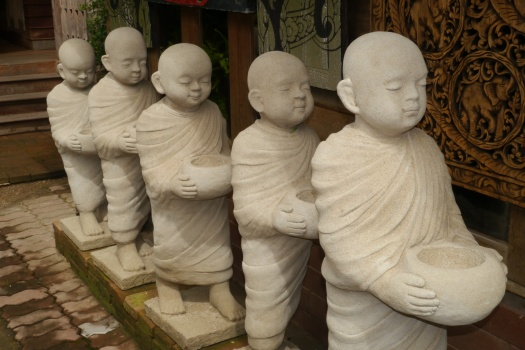 The monks of Tanita House