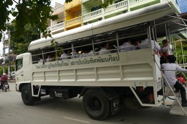 School bus in Chiang Mai