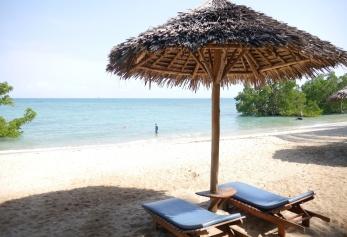 Beach at Mbweni Ruins Hotel