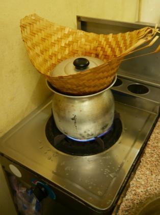 Thai version of rice steamer