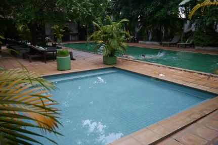 Really nice pool area at The Kabiki