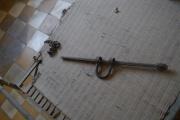 Shackle that held prisoners