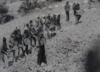 Photo of children in Khmer Rouge labor camp