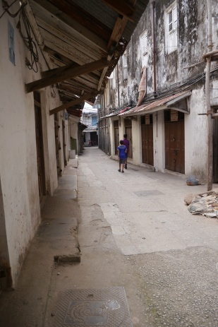"""One of many """"streets"""" in Stonetown"""