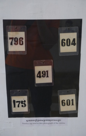 Prisoner tags found at S-21