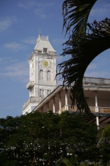 Clock tower in Stonetown