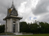 The largest remembrance stupa in Cambodia