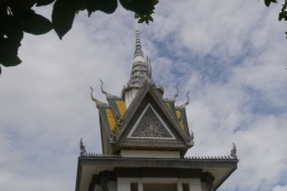 Top of remembrance stupa