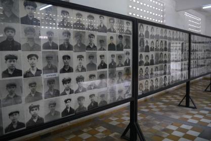 Photos of S-21 prisoners