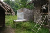 Toilet and chicken house