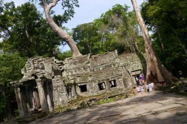 East entrance to Ta Prohm, a jungle temple