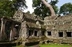 The temple was commissioned by King Jayavarman IIV in 1186 AD. It took 10 years to complete.