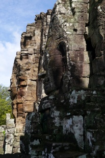 Bayon has 216 of these faces, known as the Smile of Angkor.