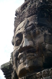 King Jayavarman VII thought of himself as a God King. In other words, he had a big head.