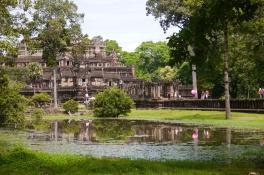 Baphuon, the royal palace, at Angkor Thom