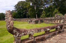 Part of Elephant Terrace, where the King spoke or gathered to watch sports or performances