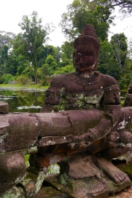 One of the god statues