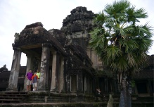 Entrance to temple, built by King Suryavarman II between 1113-1150 A.D.